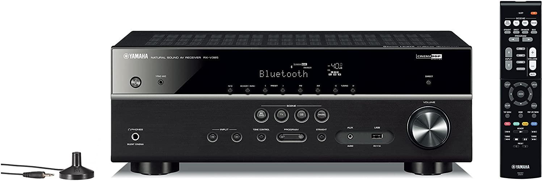 Yamaha RX-V385 Receiver 5.1 100Wrms Bi-Volt  - Audio Video & cia