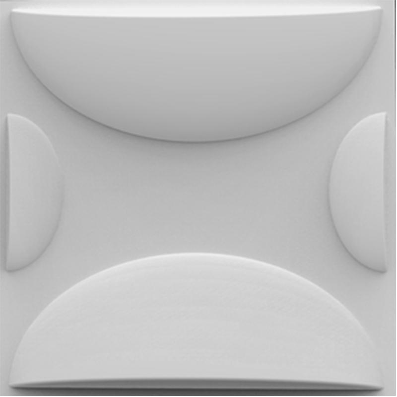 Revestimento 3D - Poliestireno - Ref.: 010 - Torcello