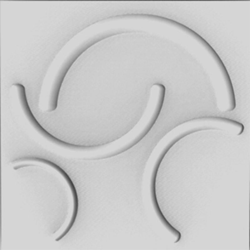 Revestimento 3D - Poliestireno - Ref.: 011 - Cretaccio