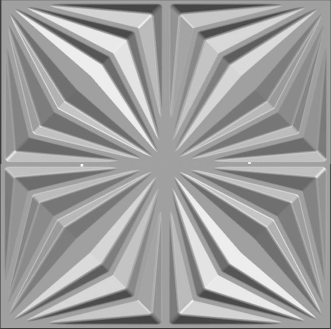 Revestimento 3D - Poliestireno - Ref.: 031 - Arezzo