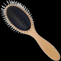 Escova Precision cabo de madeira
