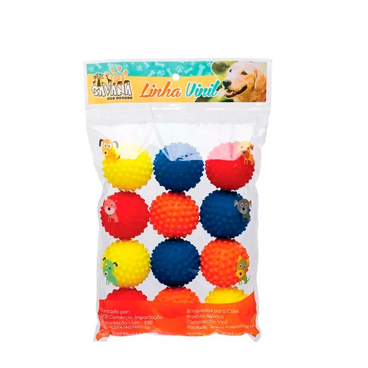 Pacote de Bola Mini Cravinho – 12 Unidades Sortidas