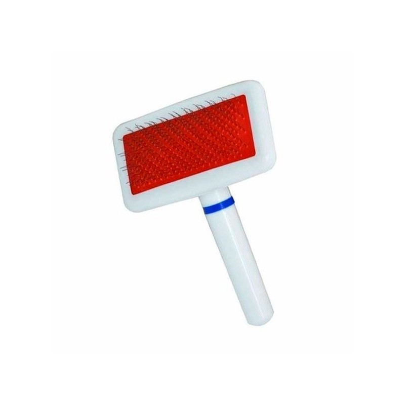 Rasqueadeira – Plástico branco e vermelho – Savana – Media
