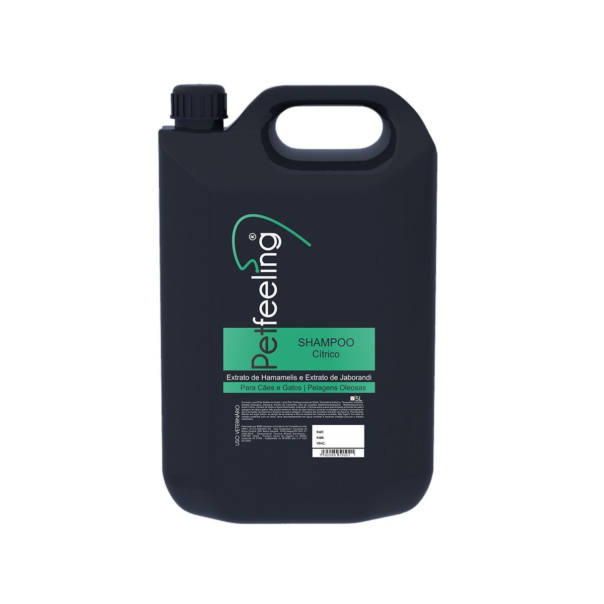 Shampoo Citríco 5L Petfeeling