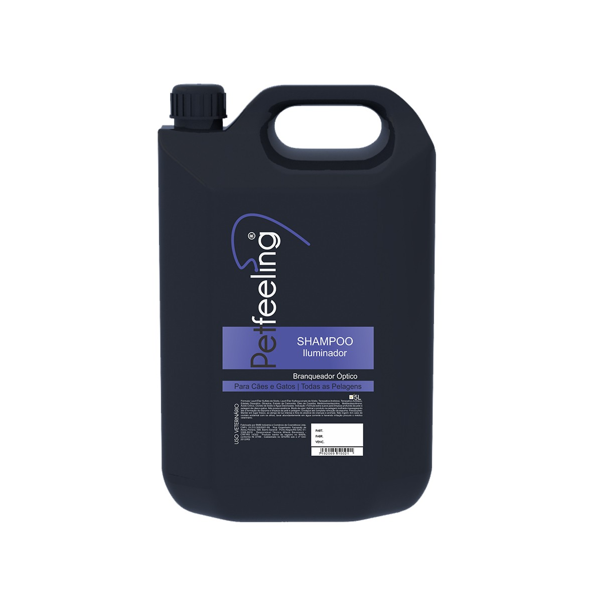 Shampoo Iluminador 5L Petfeeling