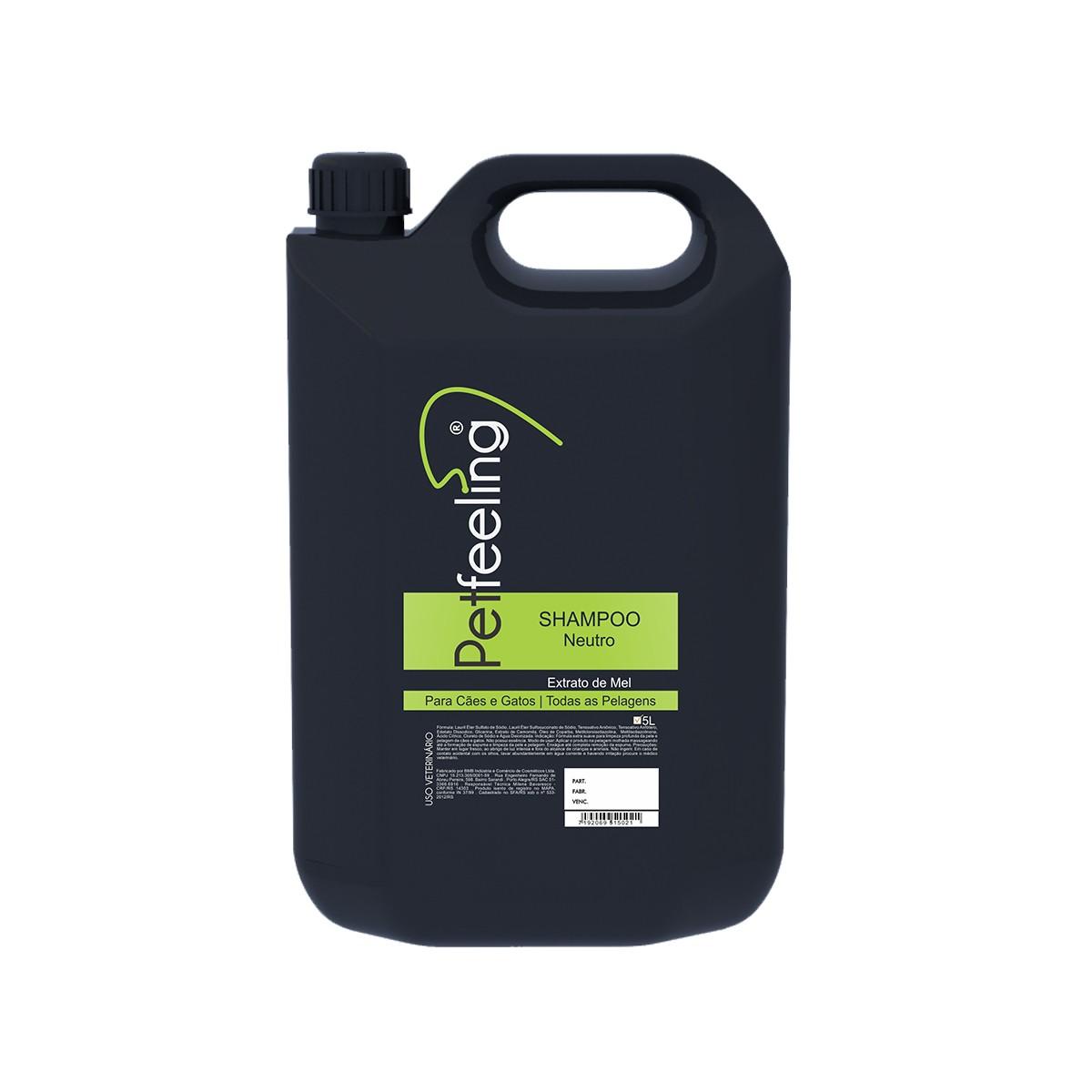 Shampoo Neutro 5L Petfeeling