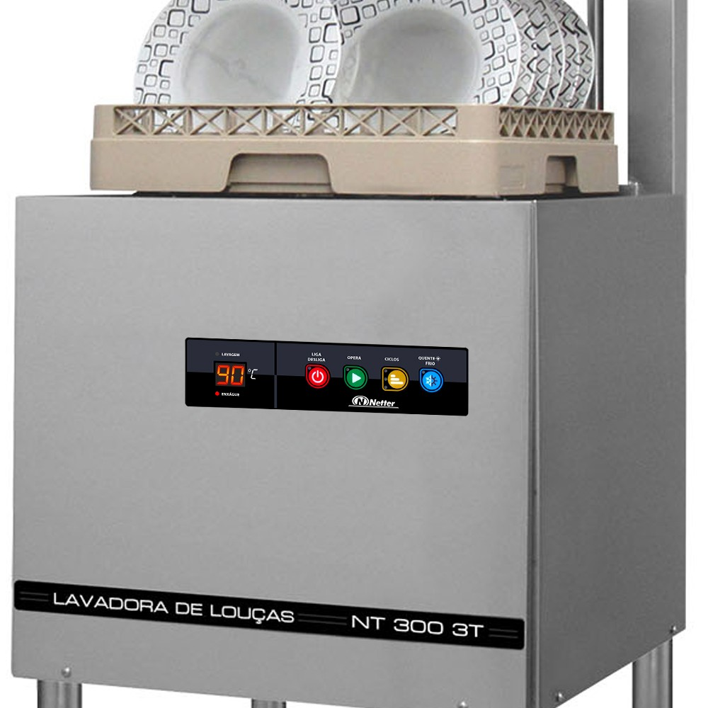 Lavadora Netter NT 300 3T