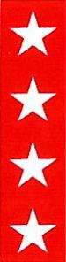FITA COLORIDA EM FOLHA PARA IDENTIFICAÇÃO DE INSTRUMENTAIS 6MM - T-703-19 - BRANCO/FUCHSIA - FAMI - 1UN