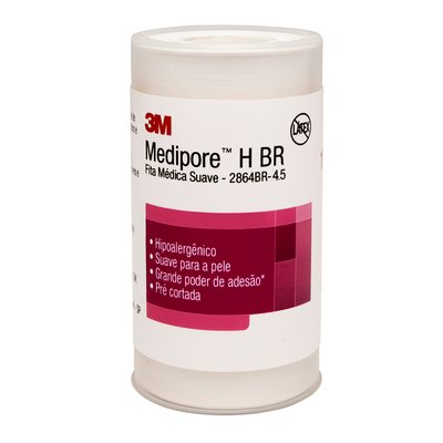 MEDIPORE H BR 100MM X 4,5MM - 2864BR - 3M - 1UN