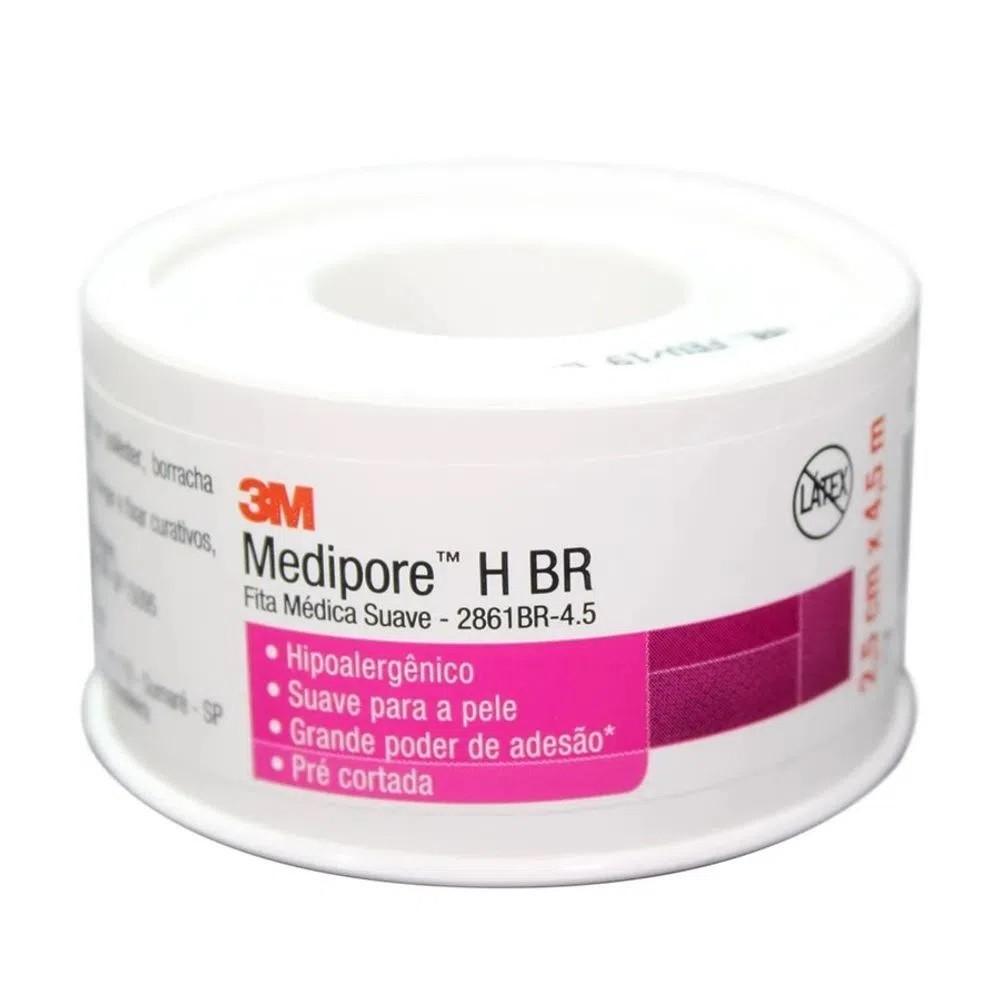 MEDIPORE H BR 25MM X 4,5MM - 2861BR - 3M - 1UN