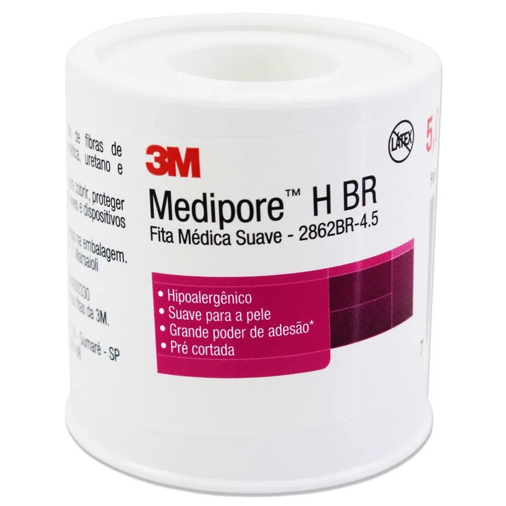 MEDIPORE H BR 50MM X 4,5MM - 2862BR - 3M - 1UN