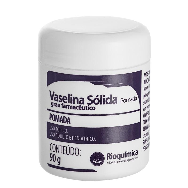 VASELINA SÓLIDA 90G - RIOQUÍMICA - 1UN