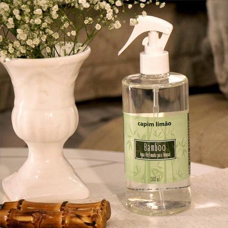 Água Perfumada para Tecidos Bamboo capim limão 500ml