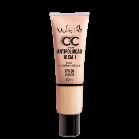 Base CC Cream Multibenefícios Antipoluição Vult 01