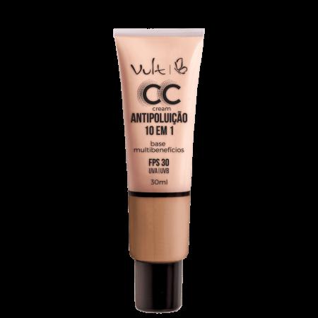 Base CC Cream Multibenefícios Antipoluição Vult 04