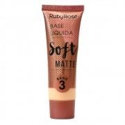 Base Soft Matte Ruby Rose Bege 03