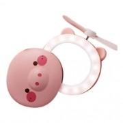 Espelho para Maquiagem com Led Porquinho  HC Fan