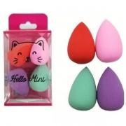 Esponja Pequena com 4 unid Hello Mini