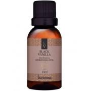 Essência Hidrossolúvel Black Vanilla Via Aroma 30ml