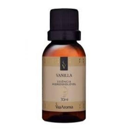 Essência Hidrossolúvel Vanilla Via Aroma 30ml