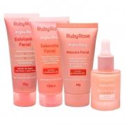 Kit Facial Argila Rosa Ruby Rose