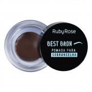 Pomada para Sobrancelha Best Brow Ruby Rose Cor Dark