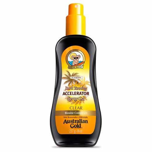 Acelerador Bronzeado Dark Tanning Clear Australian Gold 237ML
