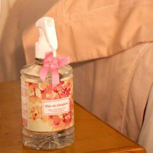 Água Perfumada para Tecidos Flor de Cerejeira capim limão 500ml