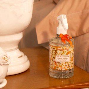Água Perfumada para Tecidos Flor de Laranjeira e Limão Siciliano capim limão 500ml