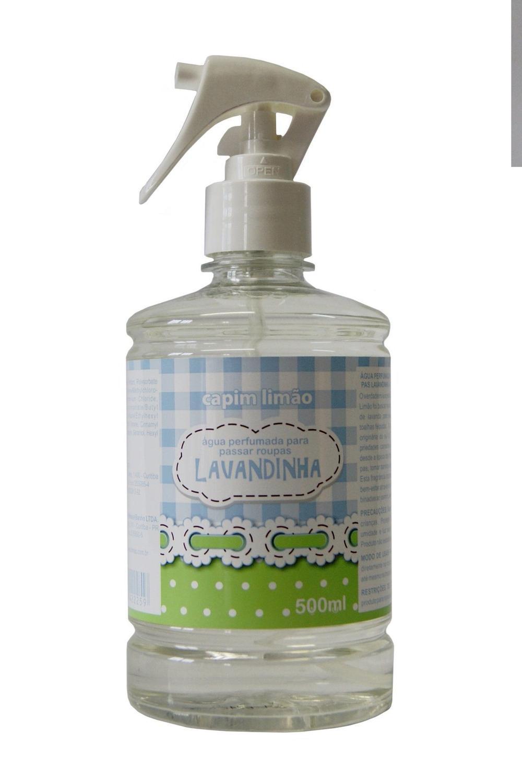 Água Perfumada para Tecidos Lavandinha capim limão 500ml