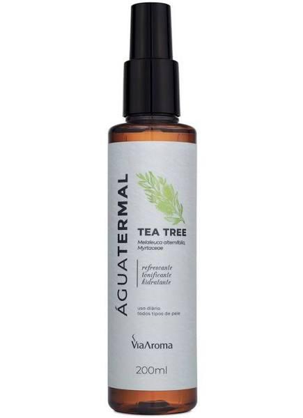 Água Termal Tea Tree Via Aroma 200ml