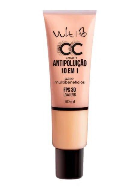 Base CC Cream Multibenefícios Antipoluição Vult 02