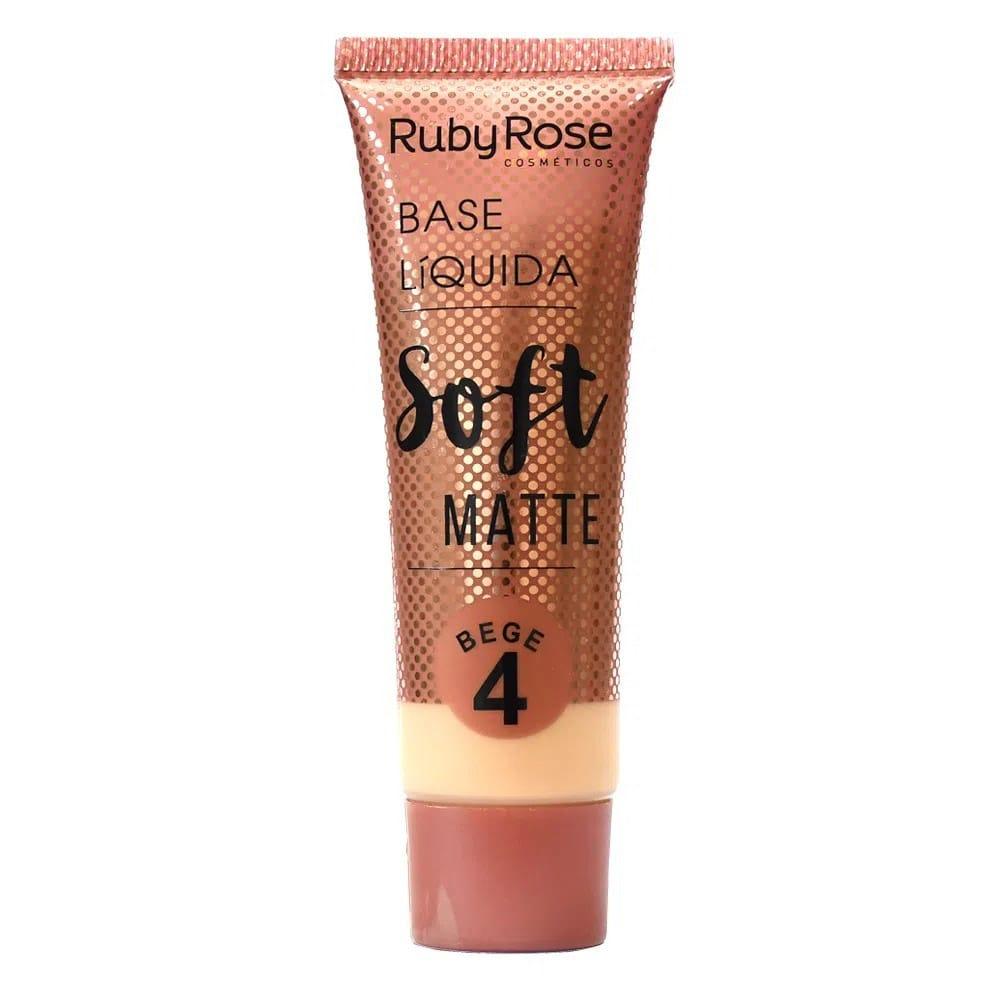 Base Soft Matte Ruby Rose Bege 04