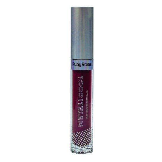 Batom Líquido Metalicool - G2 210 Ruby Rose