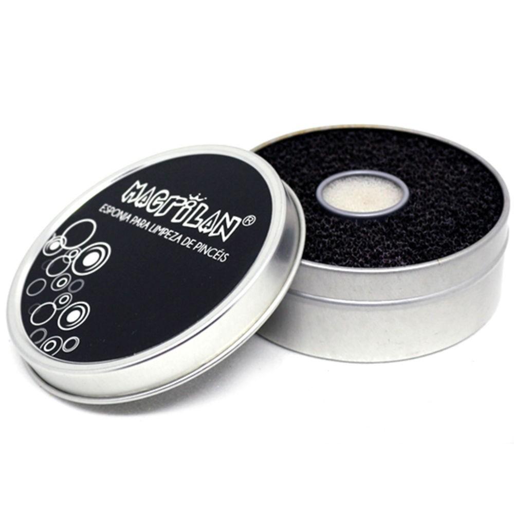 Esponja para Limpeza de Pincéis Macrilan