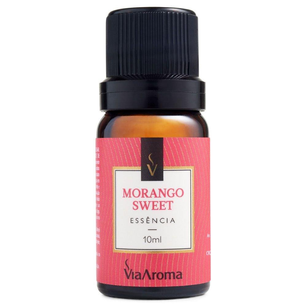 Essência Morango Sweet Via Aroma 10ml