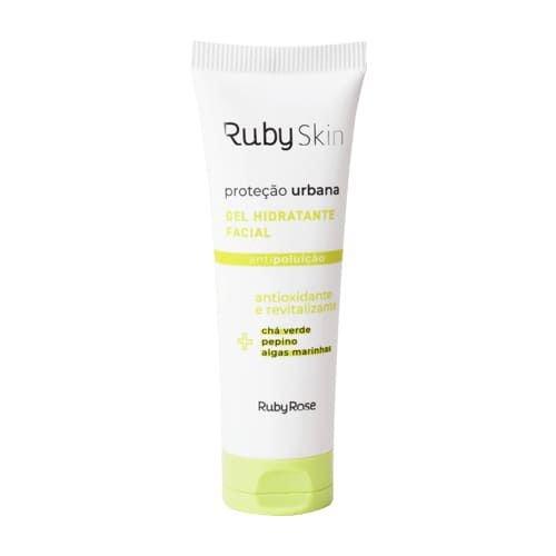 Gel Hidratante Facial Proteção Urbana Ruby Rose 50g