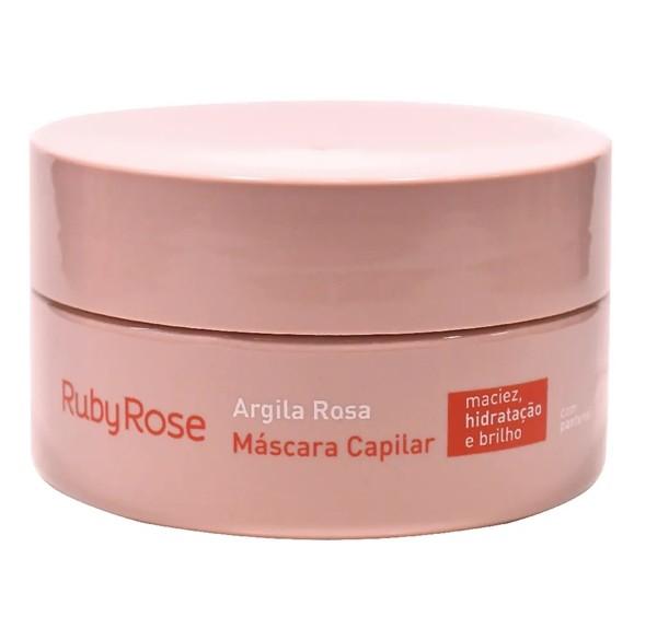 Máscara Capilar Argila Rosa Ruby Rose 200 gr