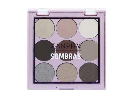 Paleta de Sombra 9 Cores 02 Zanphy