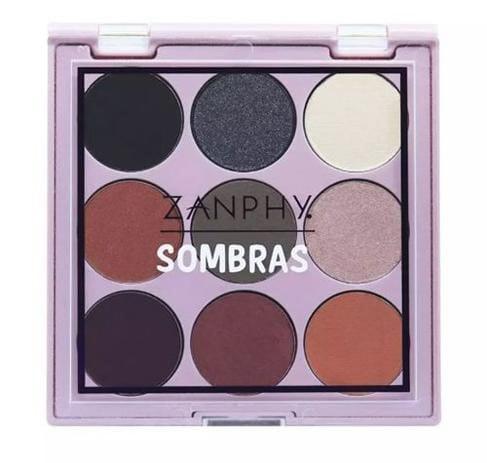 Paleta de Sombra 9 Cores 03 Zanphy