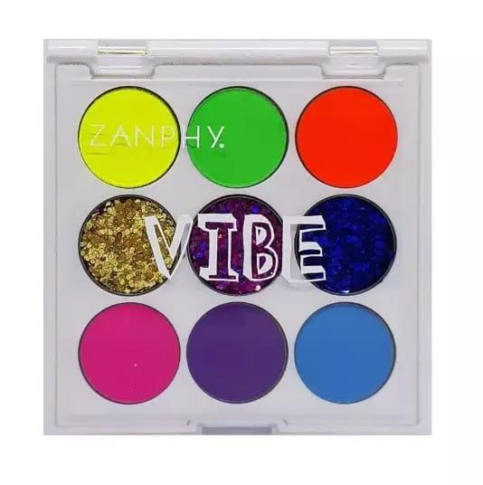 Paleta Glitter Neon Vibe 1 Zanphy