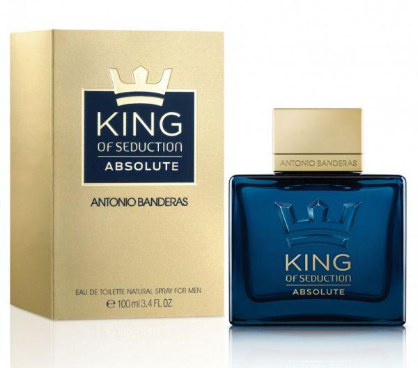 Perfume Antonio Banderas king Of Seduction Absolute 100 ml