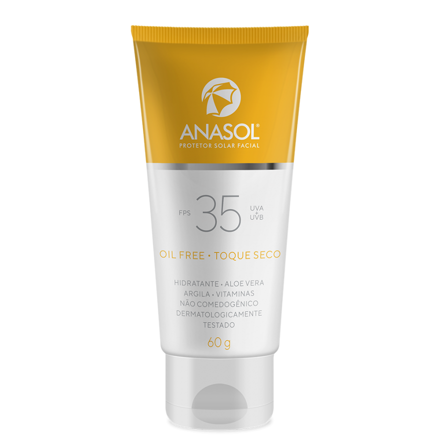 Protetor Solar Facial Anasol Fps 35 60g