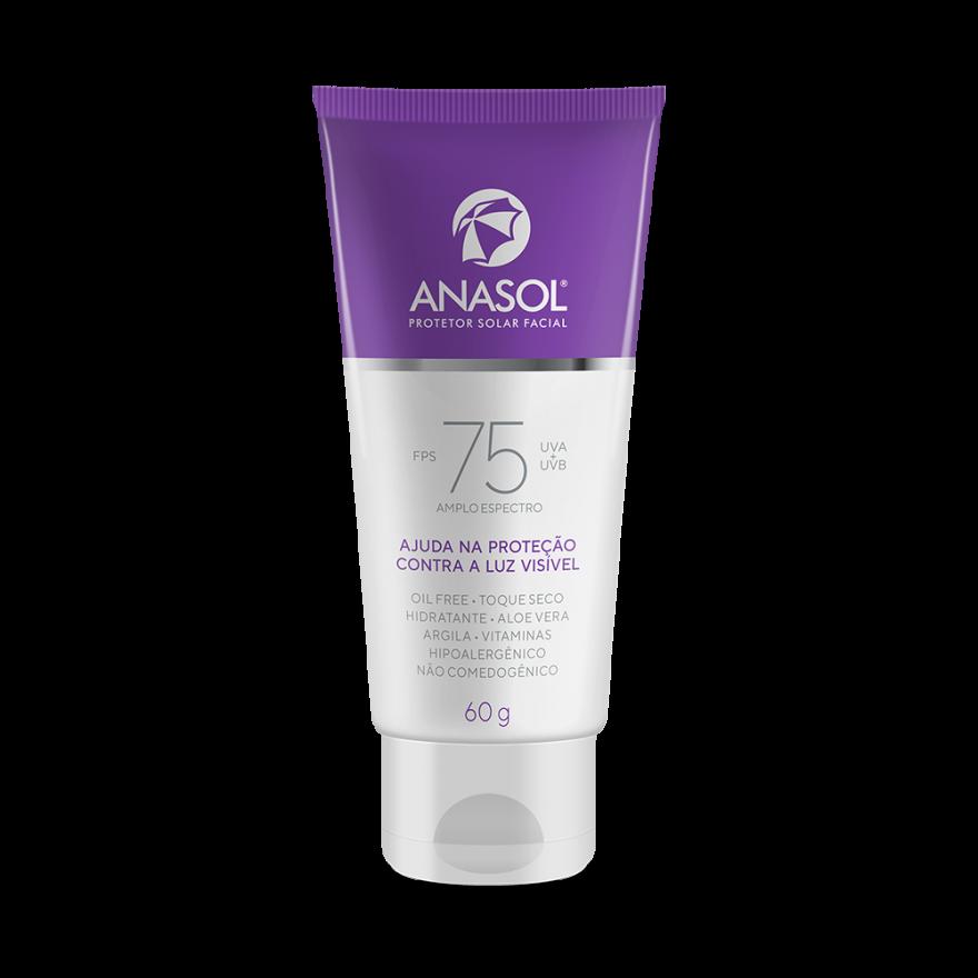 Protetor Solar Facial Anasol Fps 75 60g
