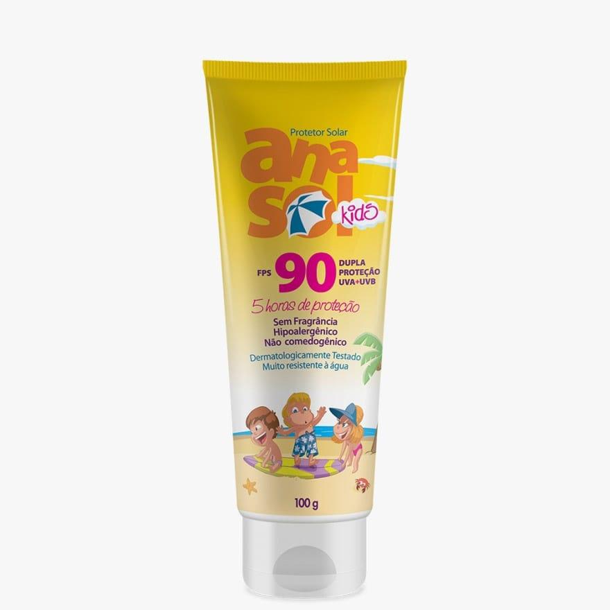 Protetor Solar Kids Anasol FPS 90 100G