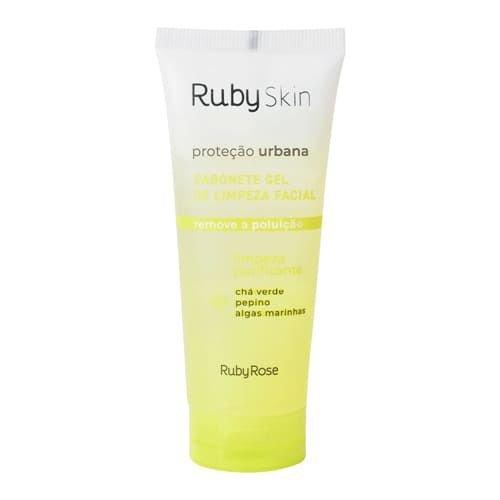 Sabonete Gel De Limpeza Facial 100ML Proteção Urbana Ruby Rose