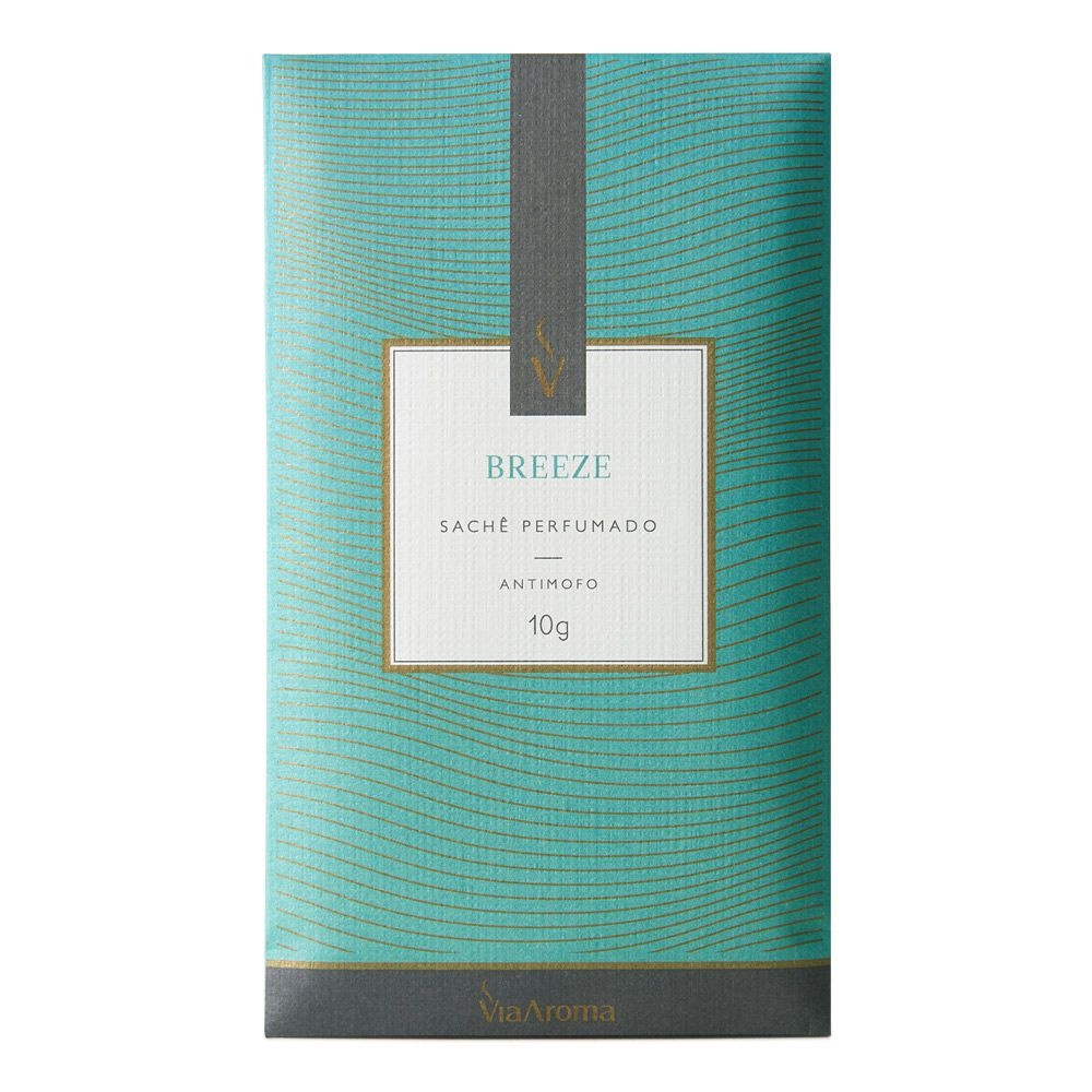 Sachê Perfumado Breeze Via Aroma 10g
