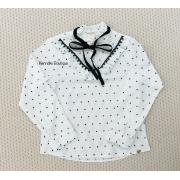 Camisa Petit Cherie estampa de poá