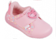TENIS PAMPILI BABY CALCE ROSA GLACE COLORIDO SINT 657024