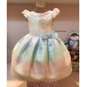 Vestido Petit Cherie Candy Color Martina